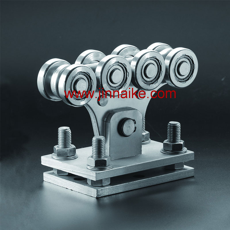 Adjustable Cantilever Gate Carriage Roller (8 Small Wheels&8 Medium Wheels)