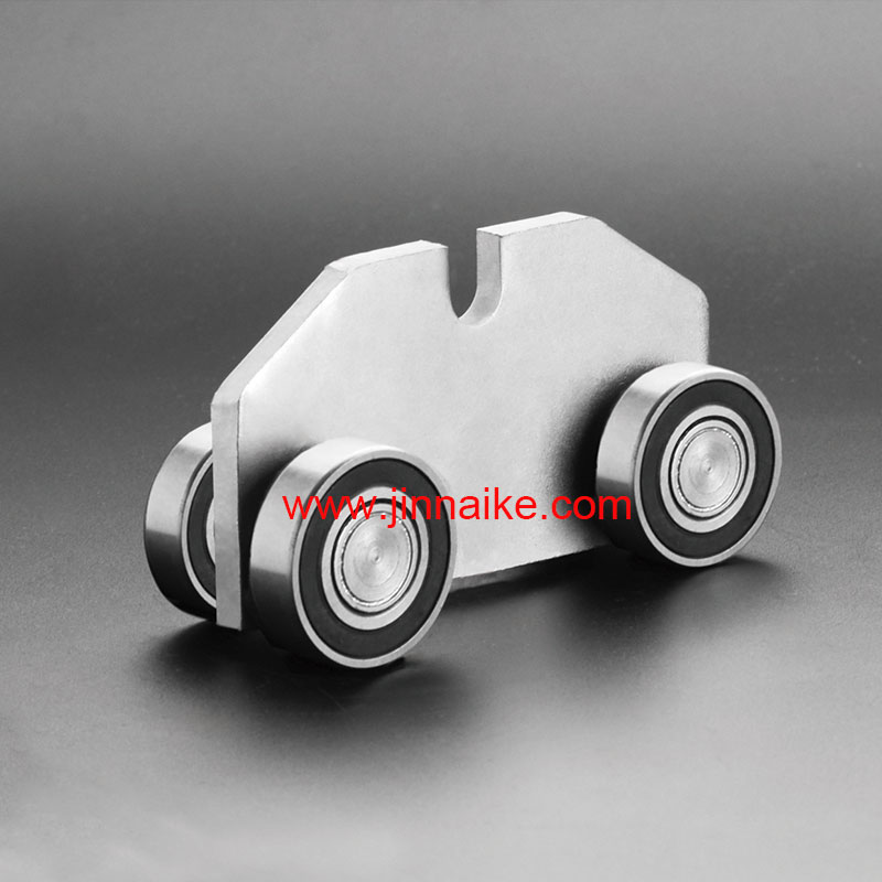 Cantilever Gate Carriage Roller(4 Wheels Suppliers