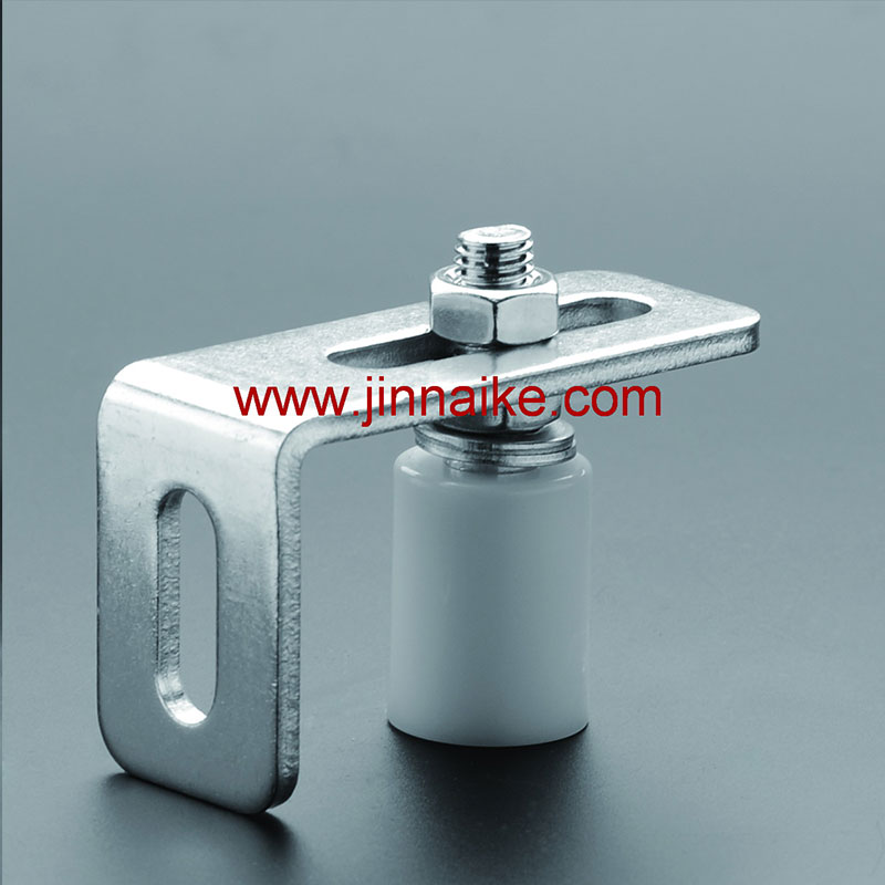 Guide Bracket With White Nylon Roller