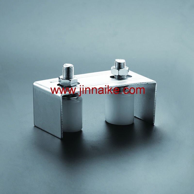 Guide Bracket with Nylon Roller&Pulley