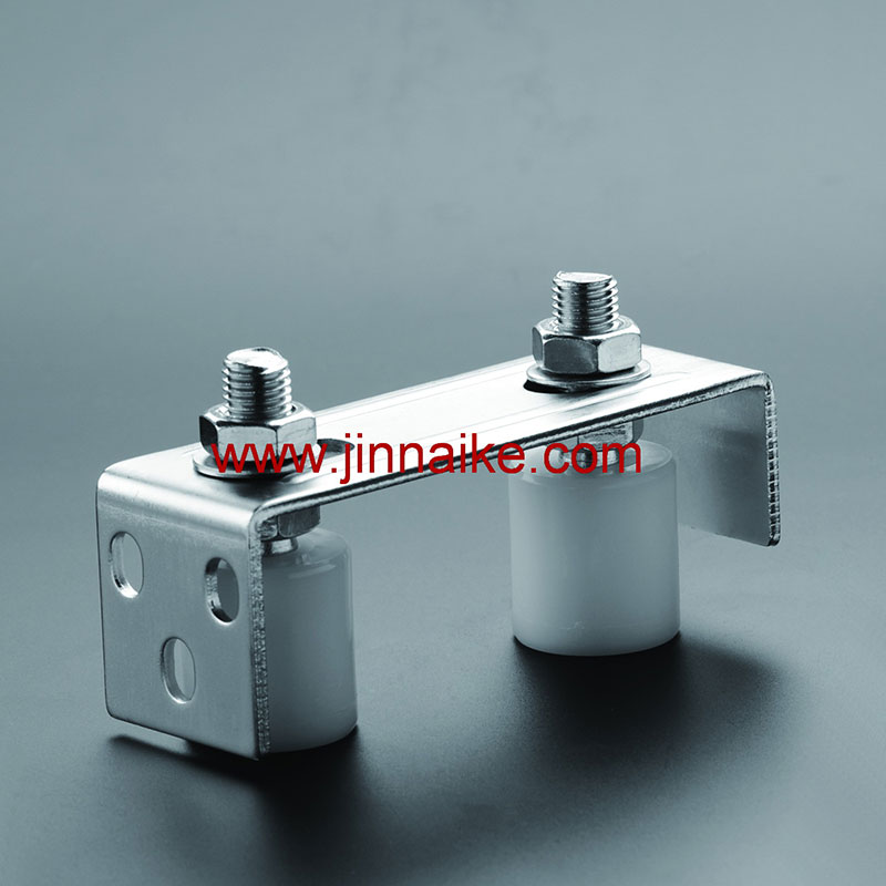 Guide Bracket with Nylon Roller&Wheel