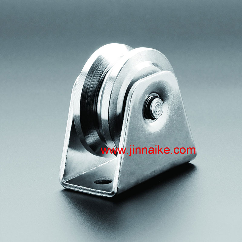 Heavy Duty Sliding Gate Roller with Exterior Bracket