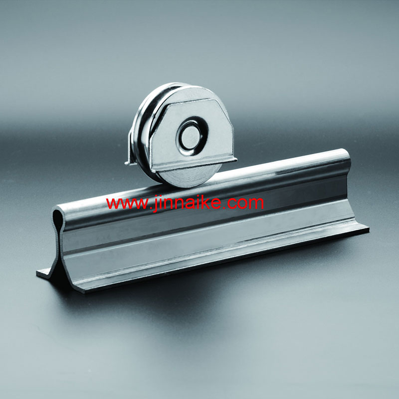 In Ground U Groove Steel Sliding Gate Track