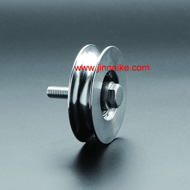 Sliding Iron Gate Roller With Bolt
