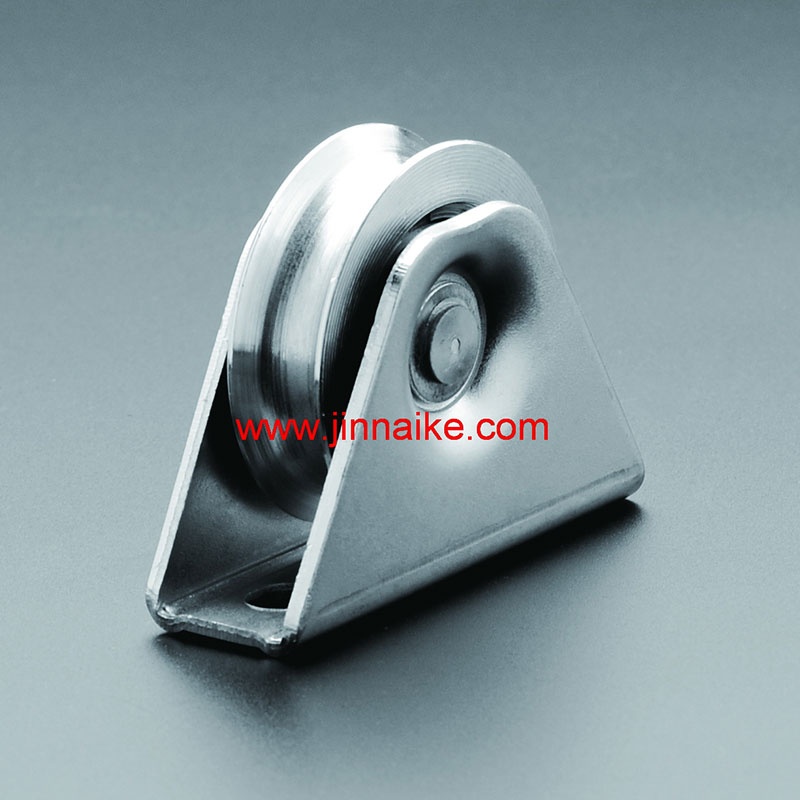 Sliding Steel Gate Roller With Exterior Bracket