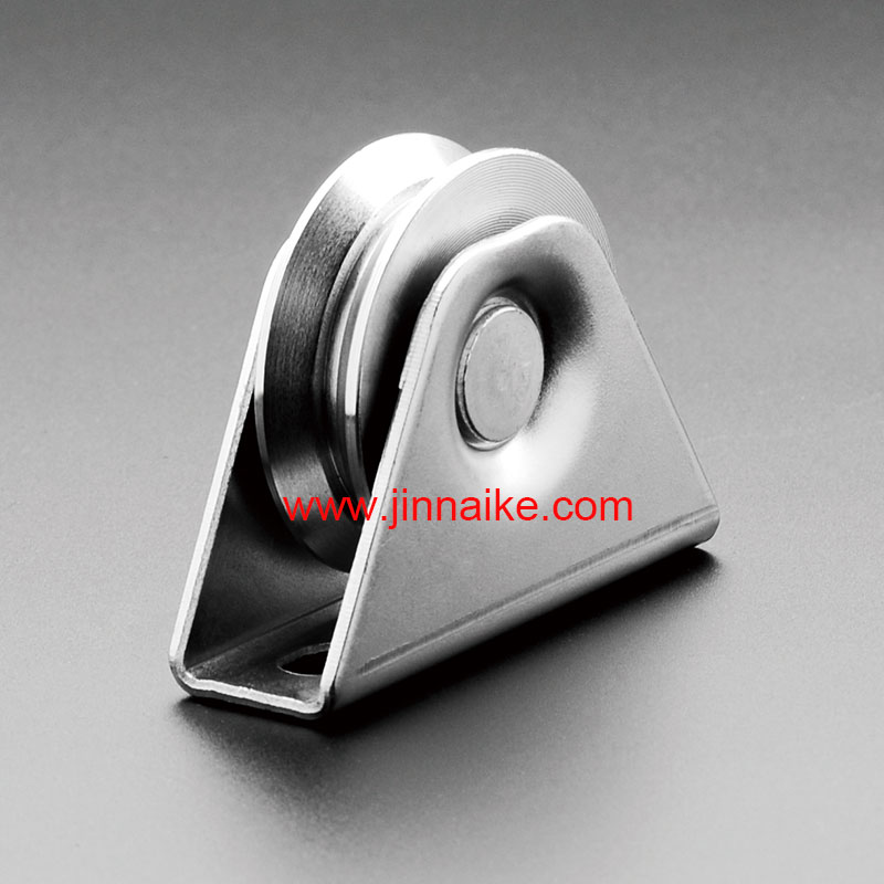 Sliding Gate Roller with Exterior Bracket
