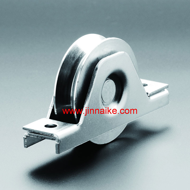 Sliding Metal Gate Roller With Interior Bracket