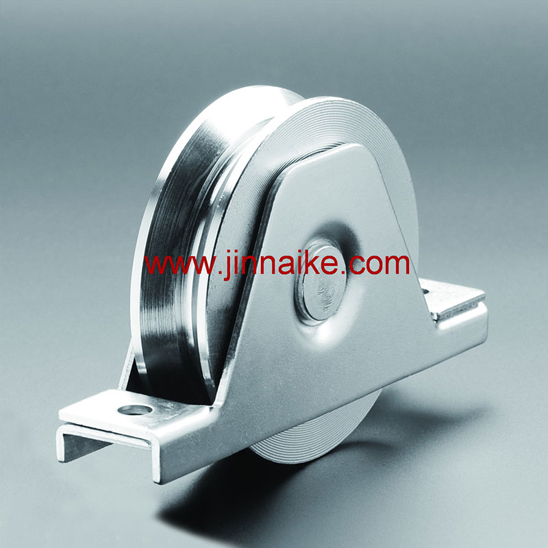 Sliding Gate Roller With Interior Bracket