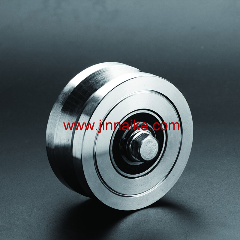 Solid-Steel-V-Groove-Gate-Wheel