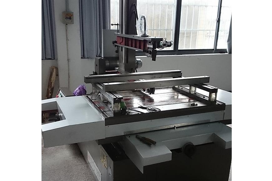 Wire cut electric discharge digital control machine tool