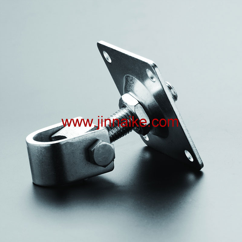 Adjustable Gate Hinge With Square Plate Wrap Type