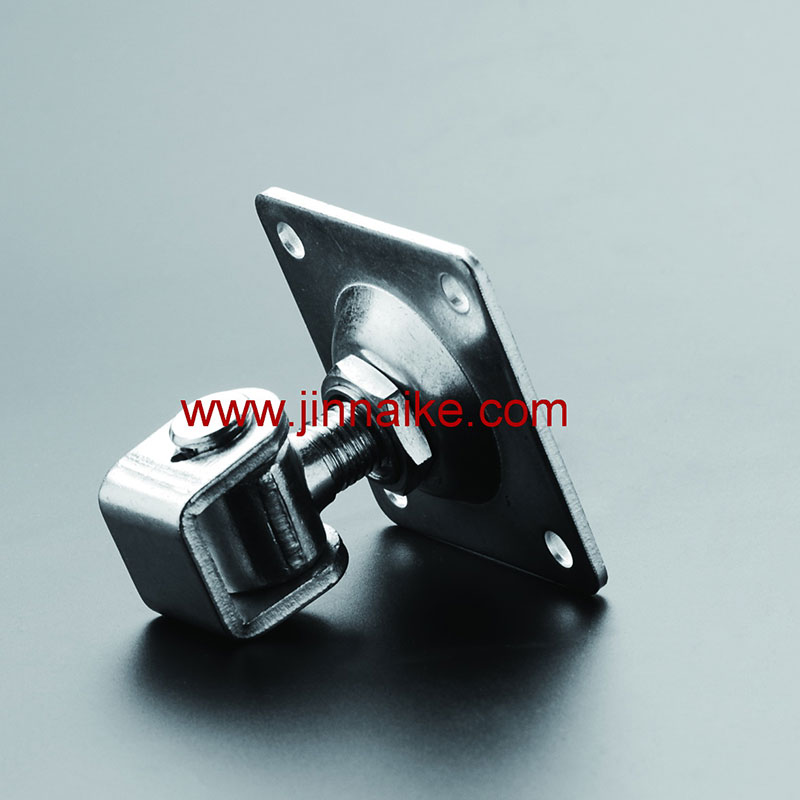 Adjustable Gate Hinge with Square Plate (Wrap type)
