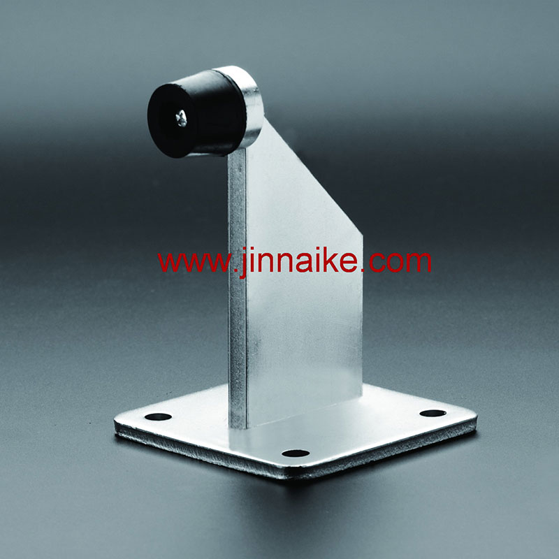Gate Stopper with Base Plate (Small Rubber)