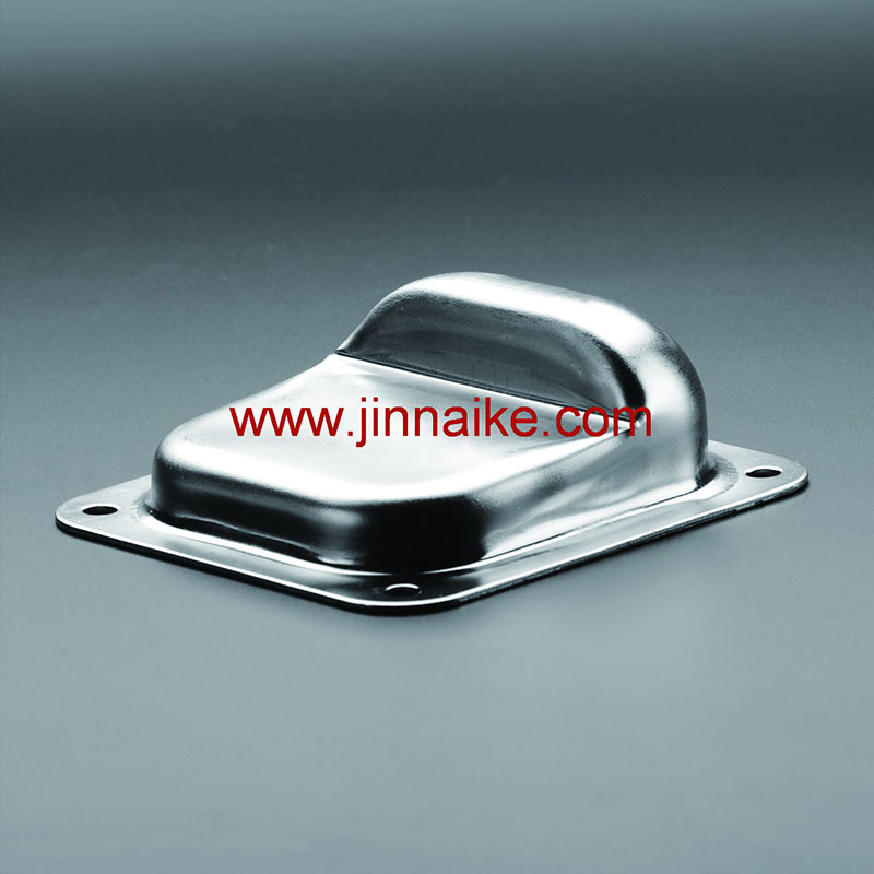 Gate Stopper with Base Plate for Two Leaf Gate