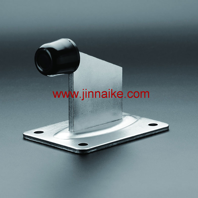 Gate Stopper with Base Plate (Large Rubber)