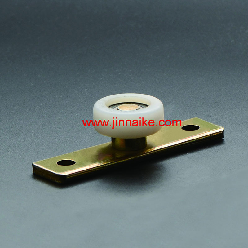 Nylon Guide Roller With Fixing Plate