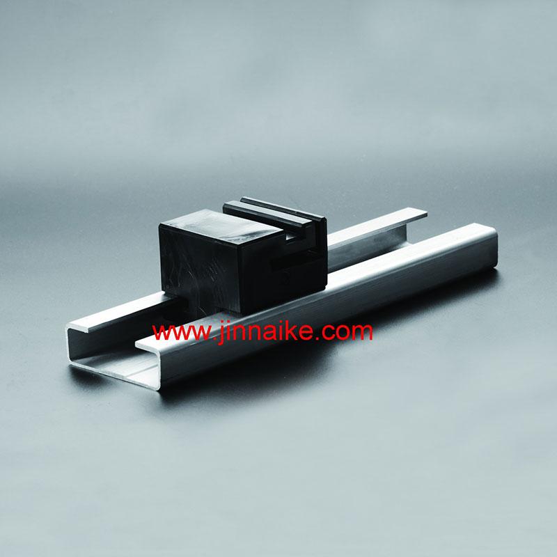 Plastic Block & Aluminum Alloy Track&Rail