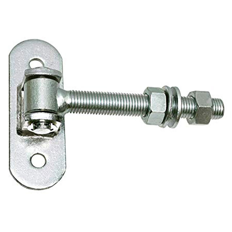 Galvanized Adjustable Gate Hinge With Long Bolt Nut