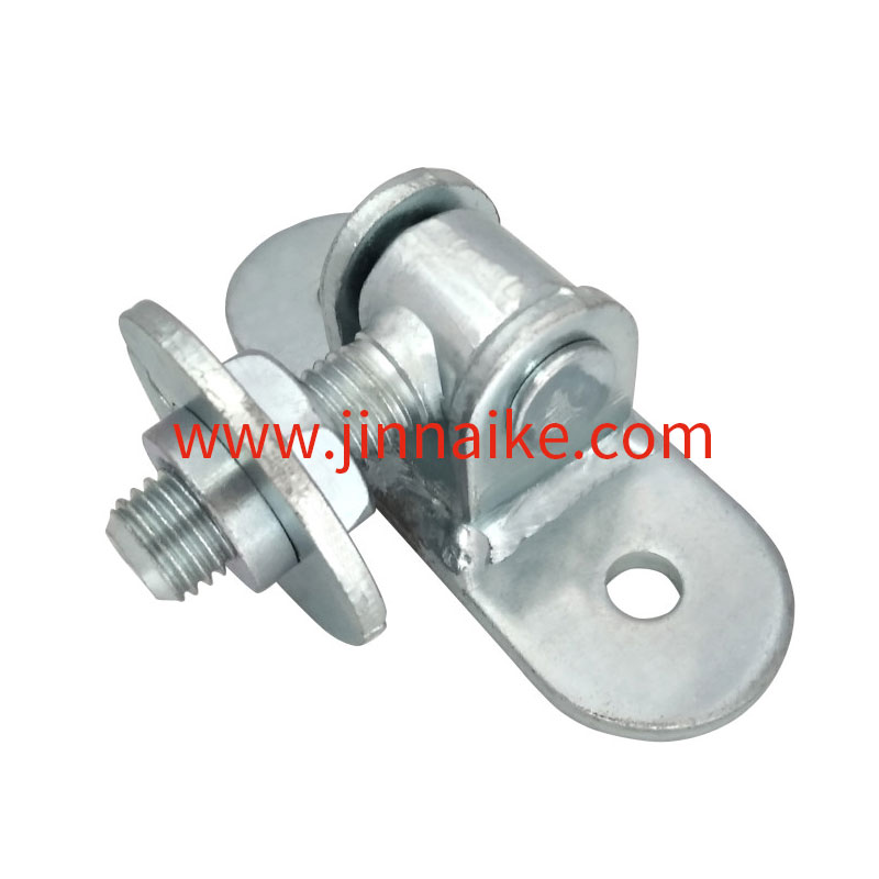 Sliding Gate Hinge  with Round Plate