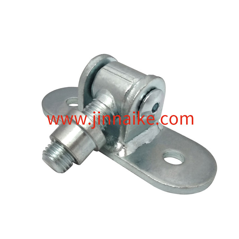 Gate Hinge  Long with  Mounting Plates, Galvanised