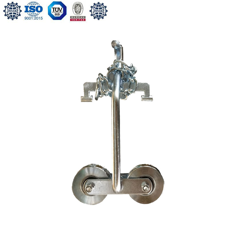 Hanging Door Roller(with Chains,Double Bearings)